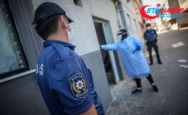 İçişleri Bakanlığı: 19- 25 Ekim'deki denetimlerde 686 kişinin izolasyon koşullarına uymadığı belirlendi