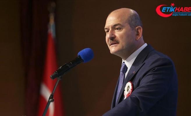 İçişleri Bakanı Soylu: Türkiye'nin önündeki 10 yılına büyük bir tarih yazmaya aynı şekilde devam edeceğiz