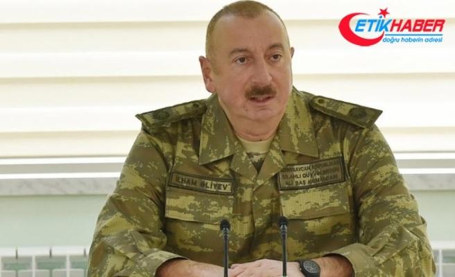 İlham Aliyev: Madagiz'de Azerbaycan bayrağı göndere çekildi