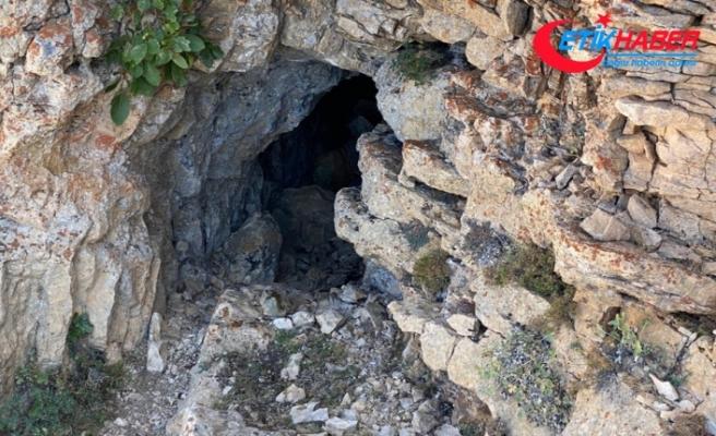 İmha edilen mağarada 1,5 tondan fazla yaşam malzemesi ele geçirildi