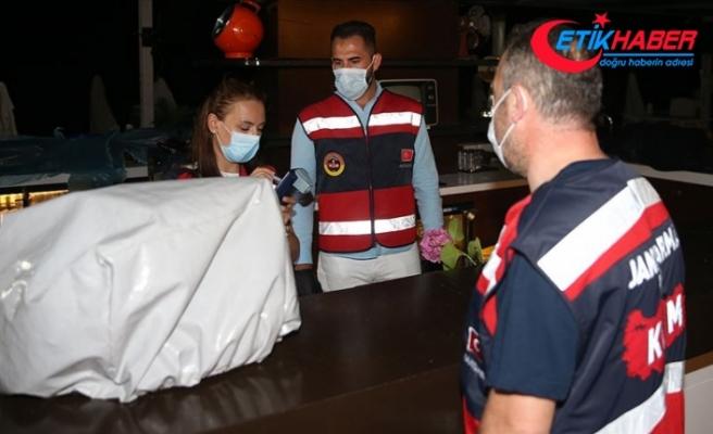 İstanbul'da eğlence mekanlarında yapılan denetimlerde 364 kişiye 545 bin 650 lira para cezası