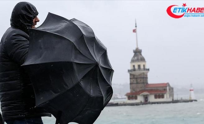 İstanbul ve çevre illere fırtına uyarısı