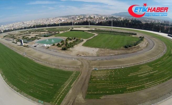 İzmir Şirinyer Hipodromu'nda bugün yapılacak at yarışları ertelendi