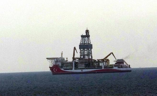 'Kanuni' sondaj gemisi Çanakkale açıklarına demirledi