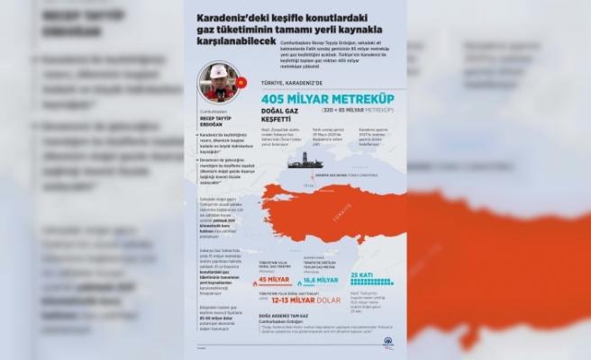 Karadeniz'deki keşifle konutlardaki gaz tüketiminin tamamı yerli kaynakla karşılanabilecek