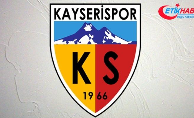 Kayserispor'da 1 futbolcunun testi pozitif