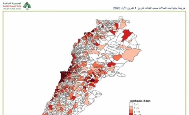 Lübnan'da 111 kasaba ve köy karantina altına alındı