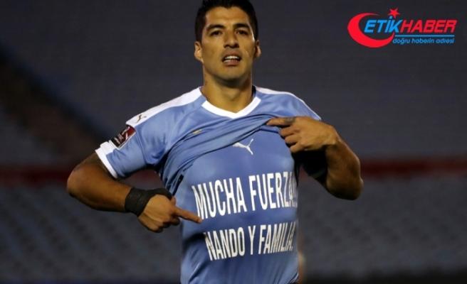 Luis Suarez'dan Fernando Muslera'ya destek