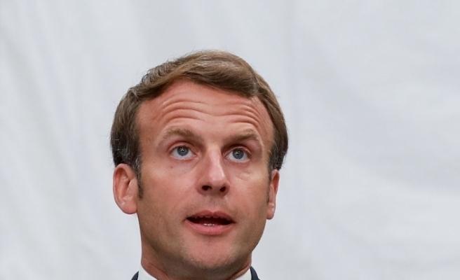 """Macron: """"Ülkede görev alan asker sayısı 3 binden 7 bine çıkarıldı"""""""