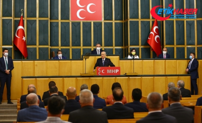 MHP Lideri Bahçeli: Türk'e kefen biçmeye çalışan zalimlerin sonu hamd olsun korkunç olmaktadır