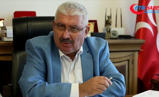 MHP'li Yalçın: HDP/PKK kamilen itlafı gereken bir siyasi haşere sürüsüdür