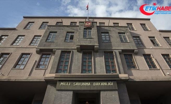MSB: Pençe-Kaplan Operasyonu'nda PKK'ya ait silah ve mühimmatlar ele geçirildi