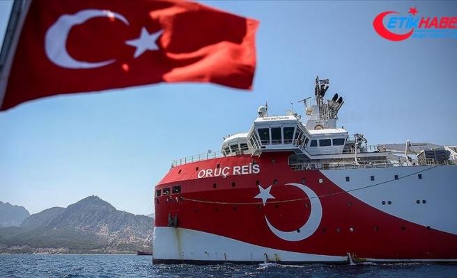 Oruç Reis'in Doğu Akdeniz'deki çalışma süresi 27 Ekim'e kadar uzatıldı