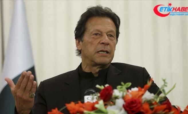"""Pakistan Başbakanı Han: """"Hindistan, Afganistan topraklarını kullanarak Pakistan'ı karıştırabilir"""""""