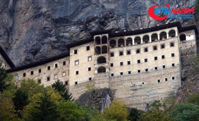 Sümela Manastırı iki ayda 107 bini aşkın ziyaretçiyi ağırladı