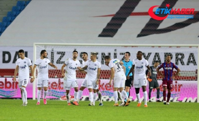 Trabzonspor'un galibiyet hasreti 4 maça çıktı