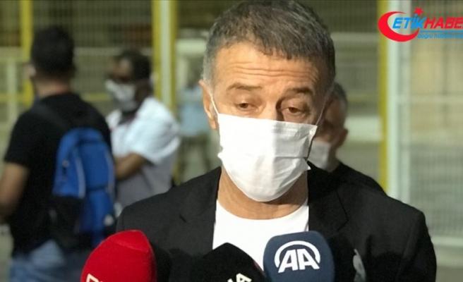 Trabzonspor Başkanı Ahmet Ağaoğlu: Her engeli aşmasını bildik