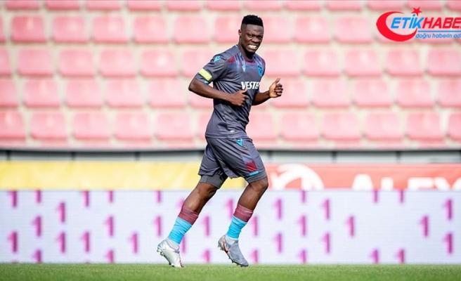 Trabzonspor'da Ekuban'ın Kovid-19 testi pozitif çıktı