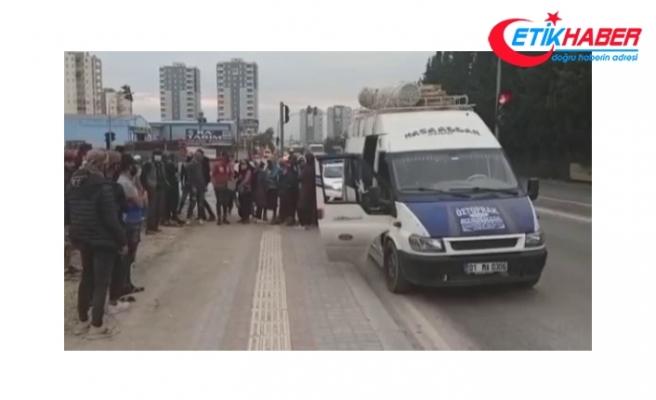 14 kişilik minibüsten 41 tarım işçisi çıktı