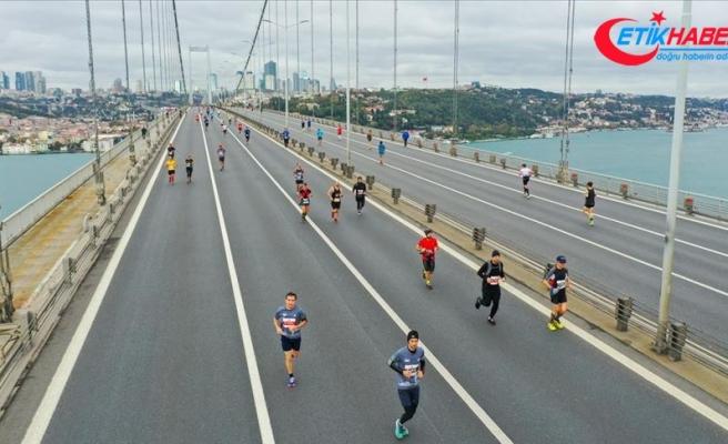 42. İstanbul Maratonunda kazananlar Kenya'lı atletler oldu