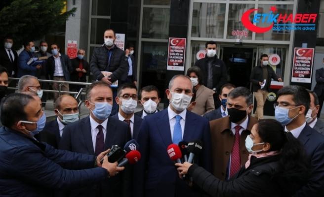 """Adalet Bakanı Gül'den provokatif paylaşım açıklaması: """"3 tutuklama olmuştur"""""""