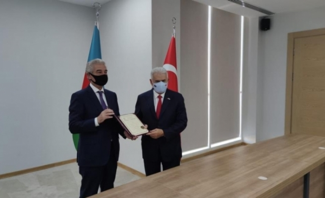 Ak Parti Milletvekili Binali Yıldırım Azerbaycan'da