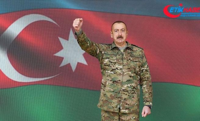 Azerbaycan Cumhurbaşkanı Aliyev: Kritik öneme sahip Şuşa kenti işgalden kurtarıldı