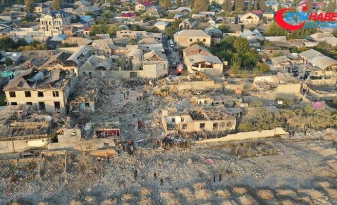 Azerbaycan'da Ermenistan'ın saldırılarında 93 sivil öldü, 407 kişi yaralandı