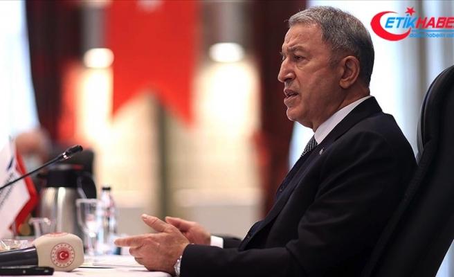 Milli Savunma Bakanı Akar: Karadeniz'deki istikrarın önemli olduğunu biliyoruz