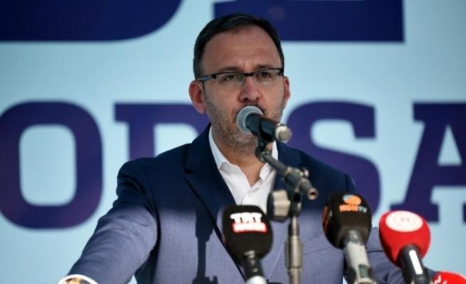 """Bakan Kasapoğlu: """"Başakşehir'in bu başarıyı sürdüreceğine inanıyorum"""""""
