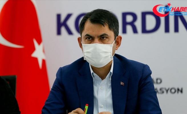 Bakan Kurum: İzmir'de bir hafta 10 gün içerisinde hasar tespit çalışmaları tamamlanacak