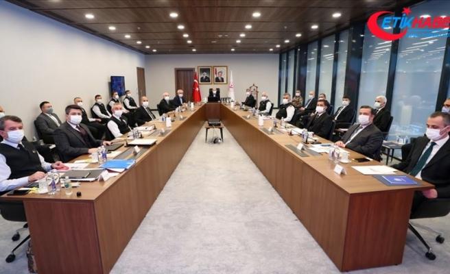 Bakan Soylu başkanlığında 'Güvenlik ve Koordinasyon Toplantısı' yapılıyor