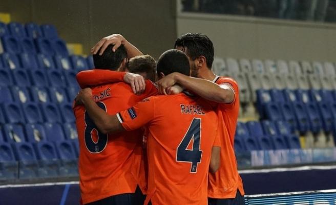 Başakşehir, Şampiyonlar Ligi'ndeki ilk 3 puanını aldı