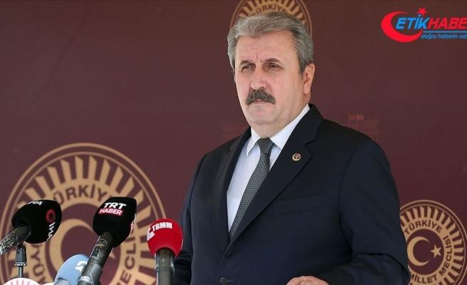 BBP Genel Başkanı Destici: Ermenistan'ın işgal ettiği topraklardan çekilecek olması Azerbaycan adına büyük bir başarıdır