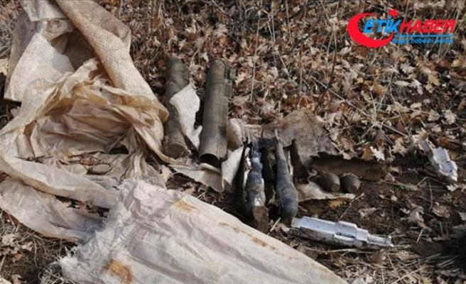Bitlis'te teröristlere ait iki lav silahı ile mühimmat ele geçirildi