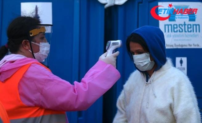 Çadır kentlerde güvenlik ve Kovid-19 tedbirleri üst seviyede
