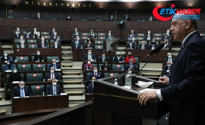 Cumhurbaşkanı Erdoğan: Nerede terör, terörist varsa bunların başını ezmek için varız