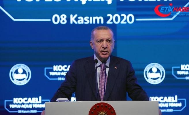 Cumhurbaşkanı Erdoğan: İş dünyamızın her meselesini kendi meselemiz olarak görüp çözüm üretiyoruz