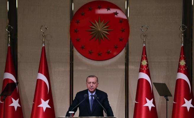 """Cumhurbaşkanı Erdoğan: """"Müslümanların kutsallarına alçakça saldırıyorlar"""""""