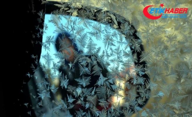 Doğu Anadolu'da 6 ilde sıcaklık sıfırın altına düştü