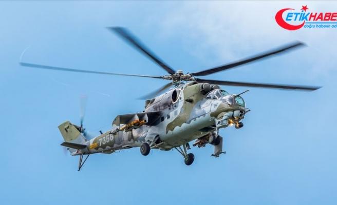 Ermenistan'da Rus askeri helikopteri düşürüldü: 2 ölü