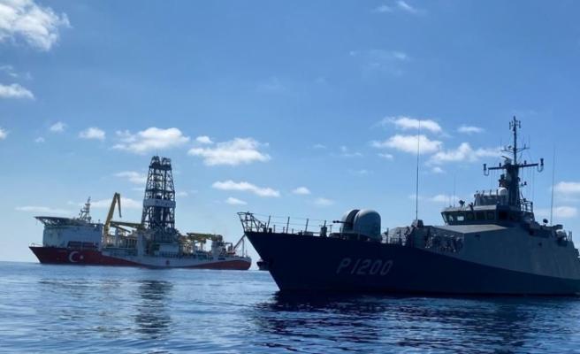 Fatih gemisi Türkali-1 kuyusuna ulaştı