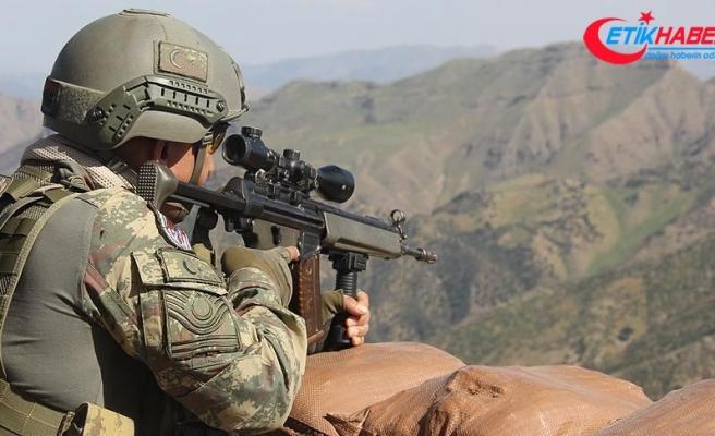 Barış Pınarı bölgesine sızma girişiminde bulunan 10 PKK/YPG'li terörist etkisiz hale getirildi