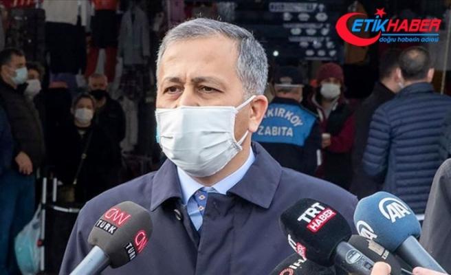 İstanbul Valisi Yerlikaya: Artık 'maske tak' demiyoruz, 'maskeni indirme, can alma' diyoruz