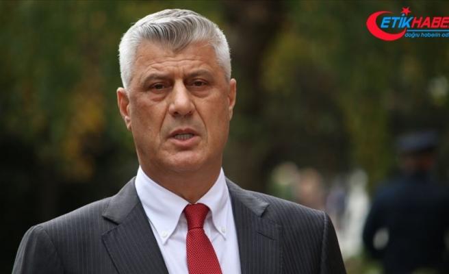İstifa eden Kosova Cumhurbaşkanı Thaçi, Lahey'de ilk kez hakim karşısına çıktı