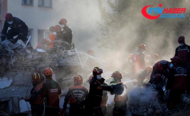 İzmir'deki depremde can kaybı 91'e yükseldi