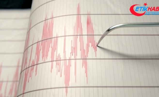 İzmir Urla açıklarında 4,2 büyüklüğünde deprem