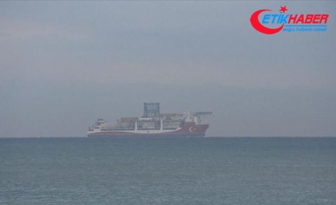 Kanuni sondaj gemisi Zonguldak açıklarında