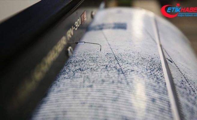Kuşadası Körfezi'nde 4,8 büyüklüğünde deprem
