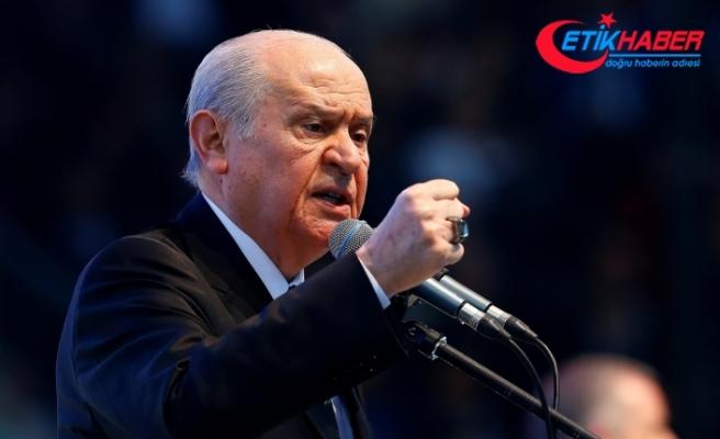 MHP Lideri Bahçeli: Ülküdaşım Alaattin Çakıcı'ya mafya bozuntusu demek, müfterilik, seviyesizlik, rezilliktir
